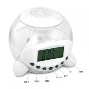 Lovely Shape Natural Sound Calendar Alarm Clock UI-809 -