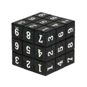 3 x 3 x 3 Small Arabic Numbers Brain Teaser Magic IQ Cube Puzzle Toy -