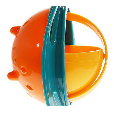 Affordable Amusing Rotary Gyro Style Mess-free Feeding Bowl with Grip and Lid -   Mobile
