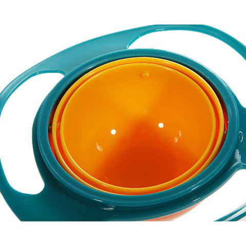 Store Amusing Rotary Gyro Style Mess-free Feeding Bowl with Grip and Lid -   Mobile
