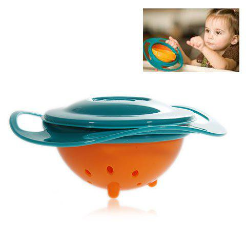 Online Amusing Rotary Gyro Style Mess-free Feeding Bowl with Grip and Lid -   Mobile