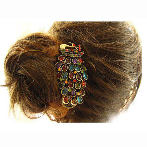 Fashion Vintage Style Elegant Peacock Shape Side Hairpin