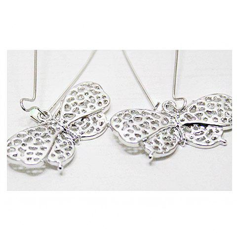 Store Korean Fashion Style Hollow Out and Bowknot Pattern Design Earrings