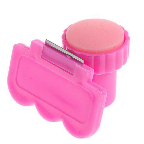 Cheap Fun and Easy Nail Art Stamping with Scraping Knife and Image Plate - DEEP PINK  Mobile