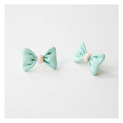 Shop Corean Sweety and Lovely Style Bowknot Shape Design Earrings