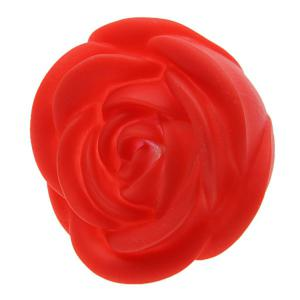 Seven Color Changing Light Rose Shape LED Small Night Light-Red -