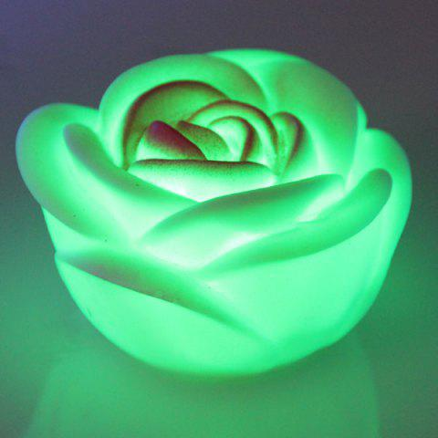 New Seven Color Changing Light Rose Shape LED Small Night Light - COLORMIX  Mobile