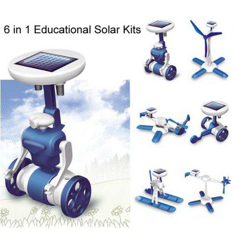 Discount New 6 in 1 Educational Solar Kits Toy 6 Different Models
