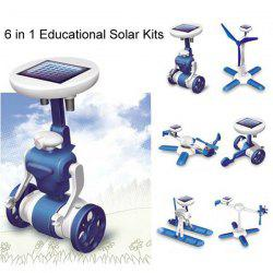 New 6 in 1 Educational Solar Kits Toy 6 Different Models -