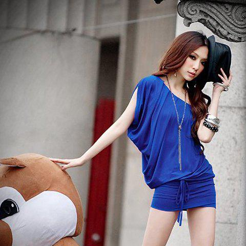 Latest New Arrival Comfortable and High Quality Sideling Shoulder Dress