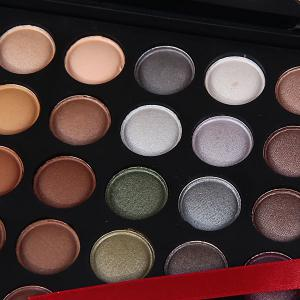 NO.04 Professional Cosmetic 120 Colors Eye Shadows Palette with Rectangle Box -