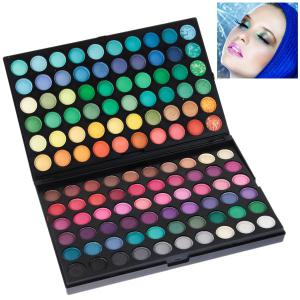 NO.01 Professional Cosmetic 120 Colors Eye Shadows Palette with Rectangle Box -