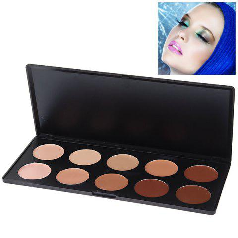 Shops Fashionable Professional Face Concealer Women Cosmetic Kit (10 Colors)