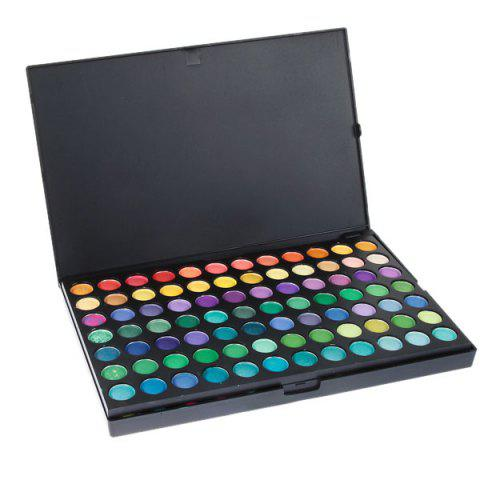 Latest Professional Cosmetic 168 Colors Eye Shadows Palette with Rectangle Box -   Mobile