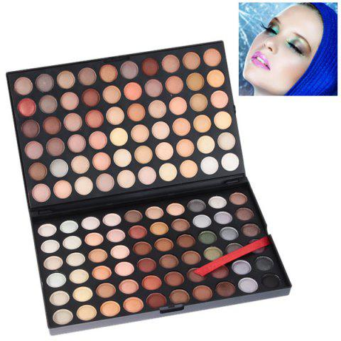 Latest NO.04 Professional Cosmetic 120 Colors Eye Shadows Palette with Rectangle Box