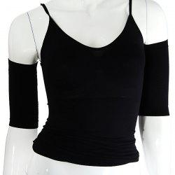 2PCS Compression Slim Arms Shaper - Black