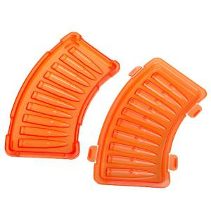 Interesting Orange Bullet Shaped Ice Mould Ice Cube Maker Tray -