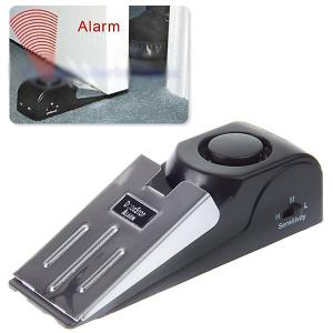 120dB Security Home Wedge Shaped Door Stop Alarm Block Systerm