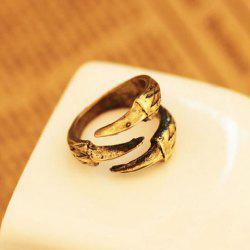 Retro Style Eagle Claw Shape Alloy Women's Finger Ring -