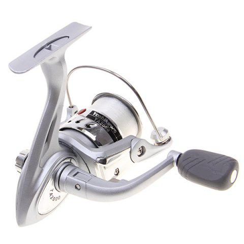 Outfits High Quality Yoshikawa TA2000 Spinning Fishing Reel with Line (Silver) -   Mobile
