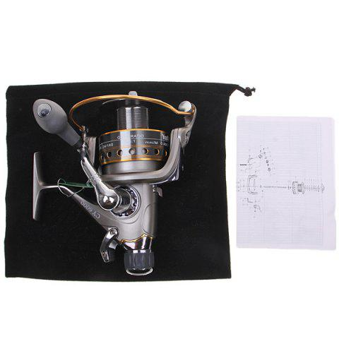 Sale High Quality Yoshikawa CY6000 Spinning Fishing Reel (Silver with Yellow) -   Mobile