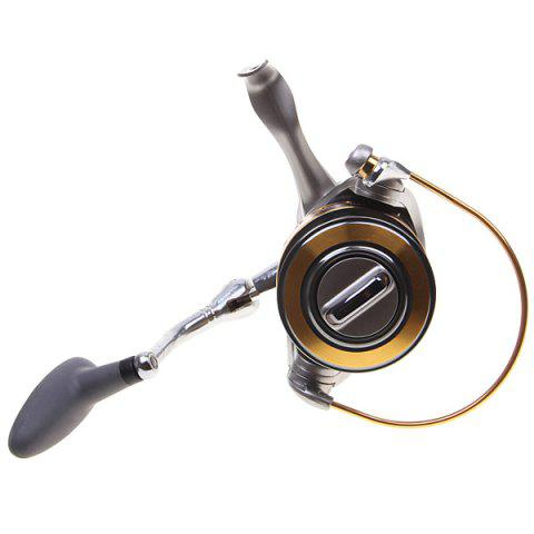 Fancy High Quality Yoshikawa CY6000 Spinning Fishing Reel (Silver with Yellow) -   Mobile