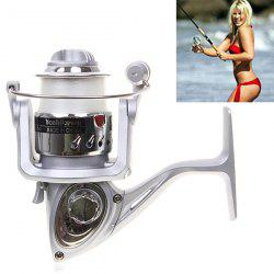 High Quality Yoshikawa TA2000 Spinning Fishing Reel with Line (Silver)
