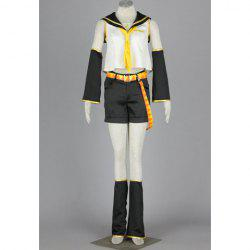 Vocaloid Kagamine Rin Halloween Cosplay Costume For Women
