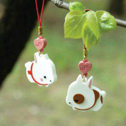 Sweet Style Pair Cute Bunny Shape Pendant Mobile Chain