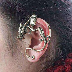 Gothic Style Dragon Shape Earring -