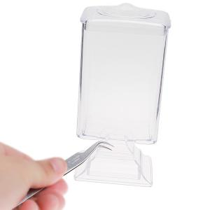 Fashion Cotton Swab Cup (Transparent) -
