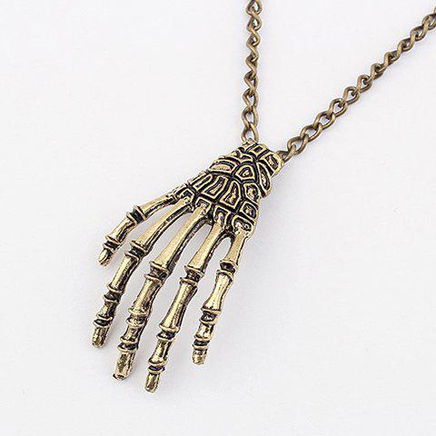 Shops Punk Claw Pendant Sweater Chain Necklace