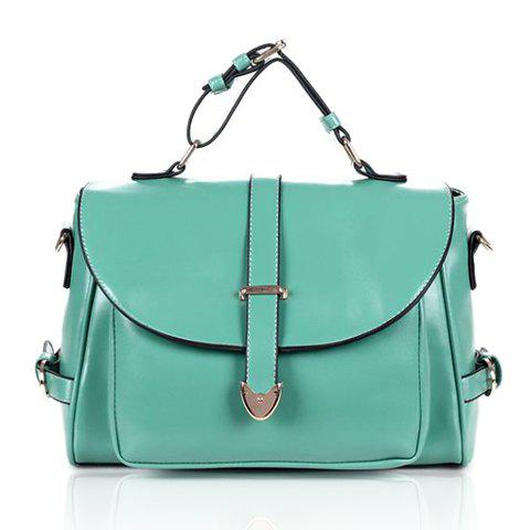 Latest Stylish Casual Vintage Candy Color and Belts Design Women's Tote Bag