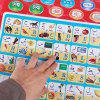 Arabic Alphabet Language Learning Voiced Wall Map for Kids -