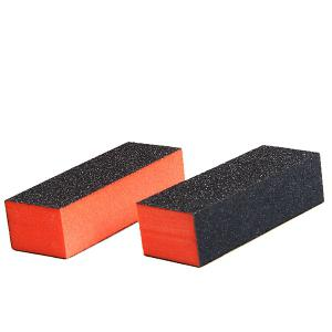 2PCS Professional Rectangle Nail Art Sanding Polishing Buffer Block Grinding Tool -