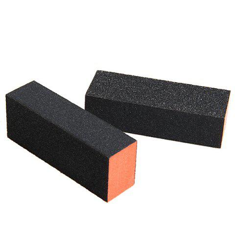New 2PCS Professional Rectangle Nail Art Sanding Polishing Buffer Block Grinding Tool -   Mobile