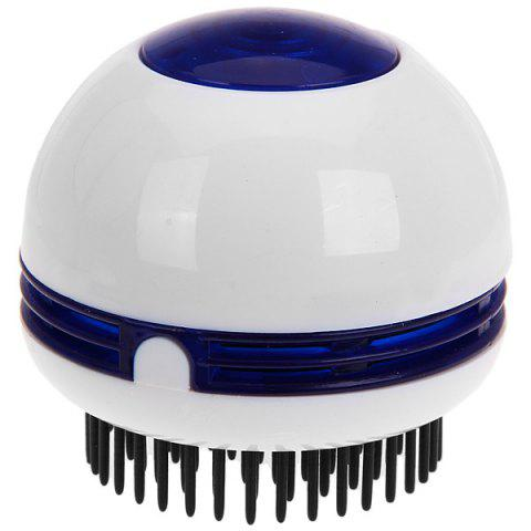 Round Electric Vibrating Massager Hair Comb