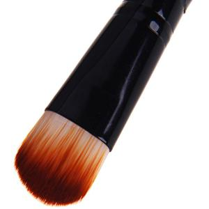 Fafula Professional Makeup Tool Double-ended Contour Define Eye Shadow Brush - Black -