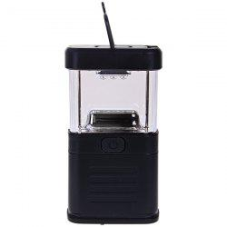 New 11 LED Bivouac Camping Lantern Light Lamp Tent Fishing Torch with Drawbar - Black -