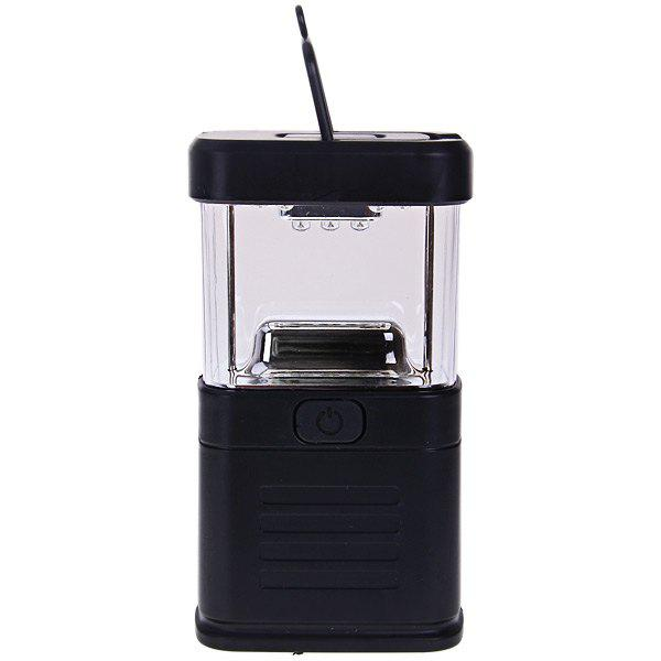 Affordable New 11 LED Bivouac Camping Lantern Light Lamp Tent Fishing Torch with Drawbar - Black