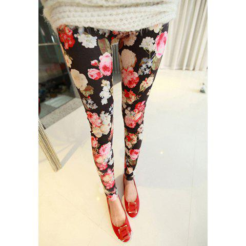 Outfits Popular Slimming Fitted Faux Suede Women's Leggings