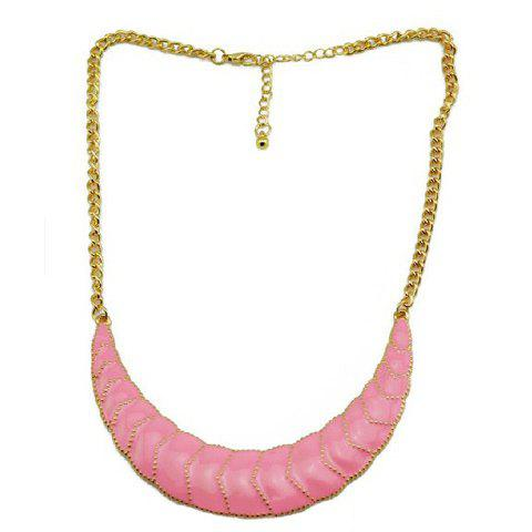 Sale Hot Sale Graceful Style Colored Glaze Pendant Embellished Women's Necklace