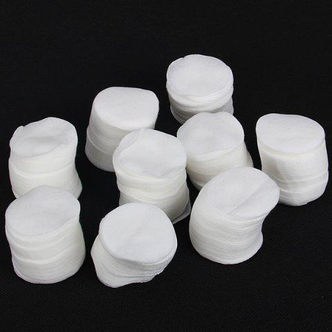 Sale 900PCS Nail Art Tips Manicure Nail Polish Remover Cleaning Wipe Cotton Pad - White