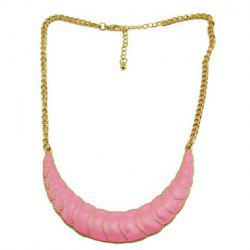 Hot Sale Graceful Style Colored Glaze Pendant Embellished Women's Necklace -