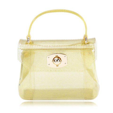 Cheap Cute Style Casual Candy Color and Twist-Lock Closure Design Women's Tote Bag
