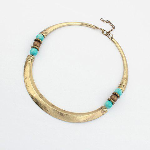 Ethnic Alloy Necklace For Men and Women - AS THE PICTURE