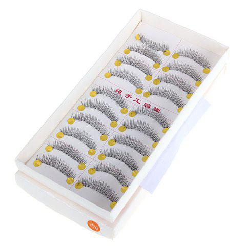 New New Arrival 10PCS Hand-made Super Exquisite Fake Eyelash for Ladies -   Mobile