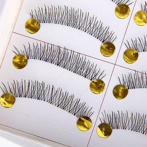 Shops New Arrival 10PCS Hand-made Super Exquisite Fake Eyelash for Ladies -   Mobile