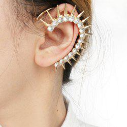 Rhinestone Rivet Ear Cuff -