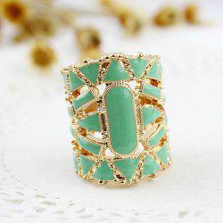 Fake Gemstone Embellished Finger Ring